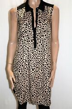JAG Brand Animal Print Sleeveless Shirt Dress Size XS LIKE NEW #AN02