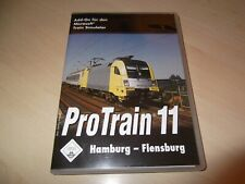 PROTRAIN 11 HAMBURG - FLENSBURG ~ MICROSOFT TRAIN SIMULATOR ADD-ON