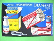 ANCIEN BUVARD PUBLICITAIRE Pantothéniques Diamant / PRODUIT PHARMACEUTIQUE
