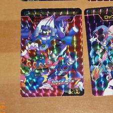 ROCKMAN 7 MEGAMAN CARD PRISM HOLO CARTE NO.3 MADE IN JAPAN 1995 CAPCOM NM