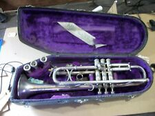 vintage king liberty silver trumpet