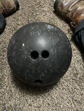 Harlem Valley state hospital vintage brunswick bowling ball