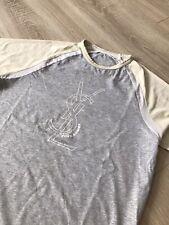 YSL Yves Saint Laurent size M big logo t shirt tee