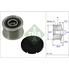 Generatorfreilauf - INA 535 0016 10