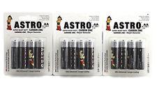 500x AA Batteries Wholesale Bulk Astro Super Heavy Duty Carbon Zinc 1.5V 2016