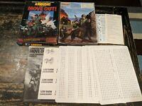 AMBUSH! Move Out! Solitaire Squad Level WWII Combat <unpunched> 1984