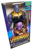 "THANOS Marvel Infinity War Titan Hero Series Power FX Action Figure 12"" - NEW!!!"