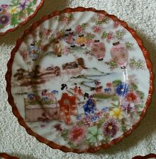 RELISTED  6 Japanese Decorative Plates