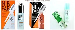 NIP + FAB Various Items Hyaluronic & Radiance Shot, Moisturiser Mask Liquid Glow