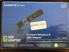 Cisco-Linksys WUSB54GC Compact Wireless-G USB Adapterby Linksys
