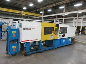 165 Ton Cincinnati Milacron Roboshot Injection Molding Machine, Model 1651-114G