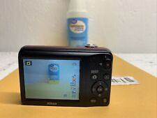 Nikon COOLPIX L29 5X Optical Zoom 16.1MP Digital Camera - Red *VERY GOOD/TESTED*