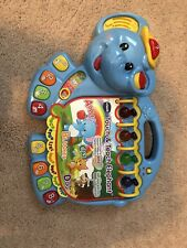 V-TECH TOUCH AND TEACH ELEPHANT - CUTE LEARNING / TEACHING TOY!