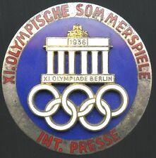 1936 Berlin Olympics Pin - Rare EX Cond.