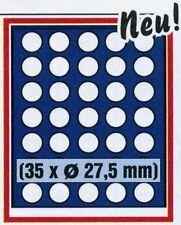SAFE 6828 NOVA Element exquisite Holz-Münzbox für 35x 5-Euro (27,5mm)