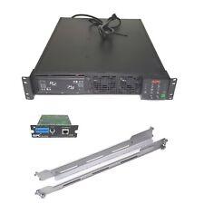 APC Smart-UPS RT 1500VA 1050W 120V 6-Outlet SURTA1500RMXL2U NMC Rails & No Batt.