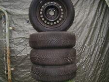 4 Winterreifen mit Felgen für Mercedes / gebraucht / 195/65/R15 / Kompletträder