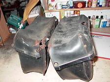 Leather BMW Saddle Bags Bag BMW R69S R60/2 R50S Triumph BSA Velocette MSS MAC