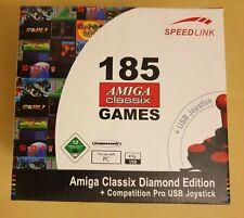 Speedlink Competition Pro USB Joystick Amiga  Classix + 185 Spiele - NEU