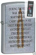 Zippo 6331 vietnam war bullet Lighter + FLINT PACK