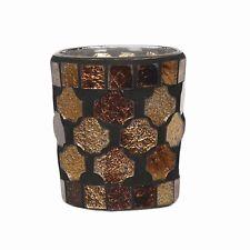 Village Candle Votive Candle Holder 6.5cm  - Golden Brown  ***BOX OF 24***