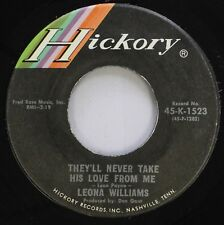 Country 45 Leona Williams - They'Ll Never Take His Love From Me / I Want Some Mo