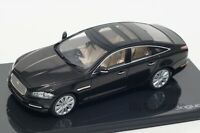 Jaguar XJ in Black, official Jaguar dealer model, IXO 1:43 scale