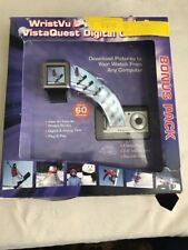 Vistaquest V700 Digital Camera with WristVu Digital Photo Watch Silver
