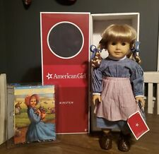 """American Girl 18"""" Kirsten 1854 Doll w/ Box and Book (Retired)"""