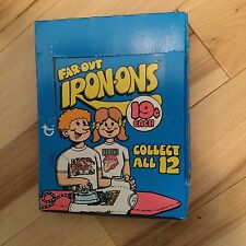 Far Out Iron-One rare full 24 packs box 1970s