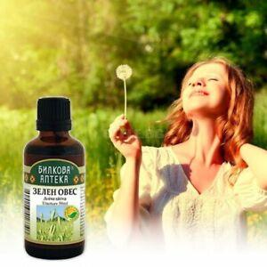 Tincture 50 ml Oat Avena Sativa - nervous system,anti-stress,Stop alcohol,Libido