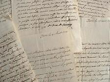 Correspondance du marquis de Suse, frère du roi de Savoie.