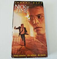 Nick of Time VHS 1996 Johnny Depp
