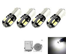 4 stk. H6W BAX9S 8 SMD CanBus 5630 LED Parklicht Standlicht Leselicht 12V DC
