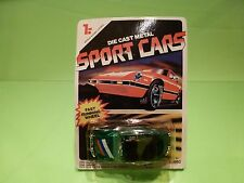 SPORTS CARS 30660 VW VOLKSWAGEN BEETLE CABRIOLET - GREEN 1:55? RARE - NMIB