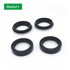 4pc Fork Oil Seal & Dust Seals Kit High Performance Replace All Balls 39x52x11