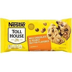 Nestle Toll House, Peanut Butter & Milk Chocolate Morsels Baking Chips