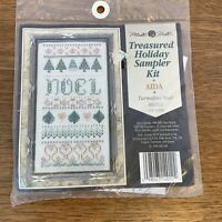 Mill Hill Counted Cross Stitch Glass Bead Kit Holiday Theme Turmaline Noel 1996