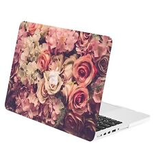 "Lavish Floral Rubberized Hard Case for Macbook Pro 13"" w./ Retina A1425 / A1502"