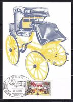 Germany 1984 Maxi card Mi 1229 Sc 1428 Posthouse & carriage