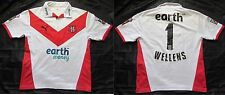 Paul wellens #1 st helens rfc rugby league 2006 shirt jersey puma adulte taille l