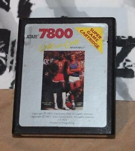 USED One on One Basketball Atari 7800 CART ONLY!!