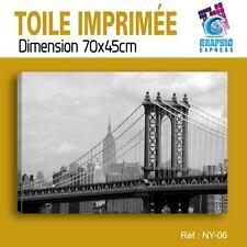 70x45cm - TOILE IMPRIMÉE - TABLEAU MODERNE DECORATION MURALE - NEW YORK - NY-06