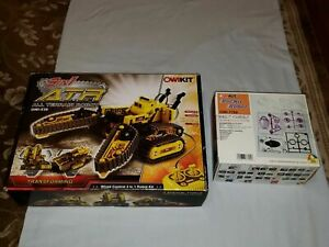 NEW 2 OWIKIT Lot: OWI-536 ATR All Terrain Transforming Robot & Rockit OWI-7769