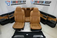 BMW Pelle Sedili Dakota Cognac 7' 7er G11 Interni IN Pelle Comfort Sedili Pelle