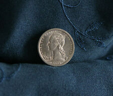 1948 French Equatorial Africa 1 Franc Unc World Coin Congo Gabon Gazelle Winged