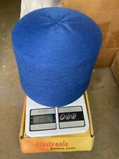 blend with 70% lambswool 20% angora & 10% nylon yarn cone color in ink blue #4