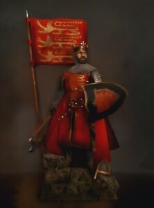 "12"" CUSTOM KING JOHN OF ENGLAND, MEDIEVAL ENGLISH KNIGHT  1/6 FIGURE IGNITE"
