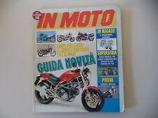 IN MOTO 11/1992 YAMAHA TDM 850/XV VIRAGO 750/GUZZI NEVADA/SUZUKI VS 800 INTRUDER