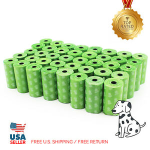 EcoJeannie 800-Count (40 Rolls) Dog Poop Bags Free Shipping from USA/ Money Back